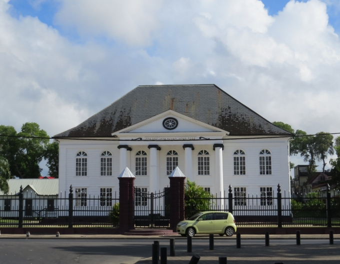 synagogue in paramaribo suriname