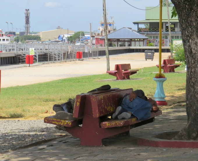 homeless in suriname