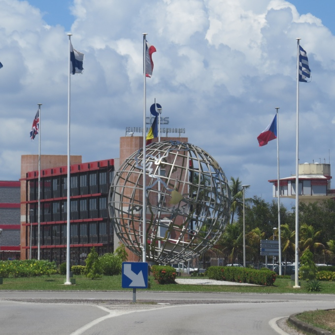 csg headquarters french guiana