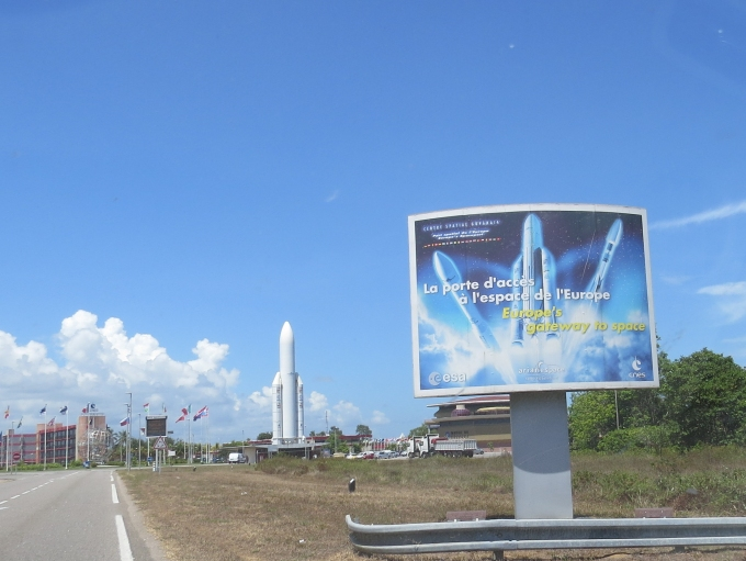 kourou_entrance welcome to CSG
