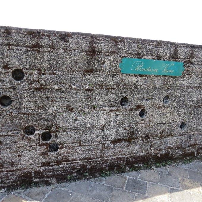 bullet holes fort zeelandia paramaribo