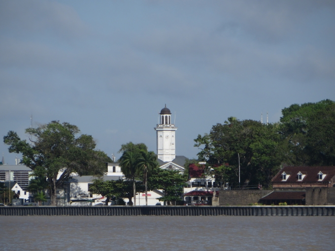 paramaribo foreshore view