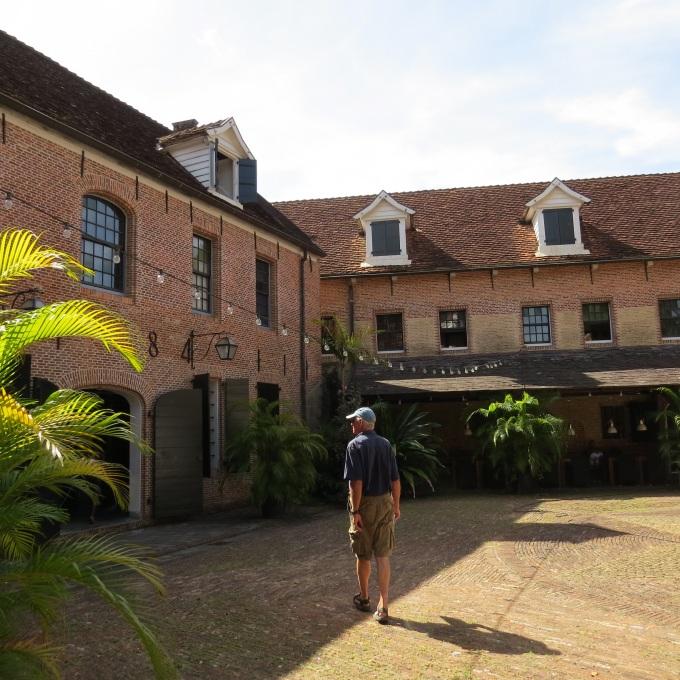 fort zeelandia courtyard paramaribo