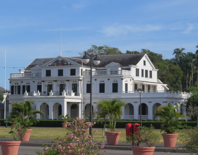 suriname presidential palace