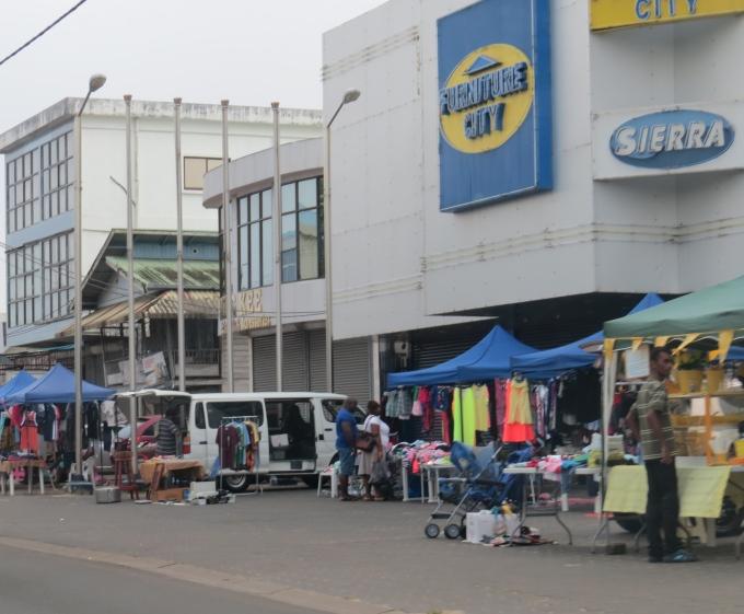 flea market in suriname