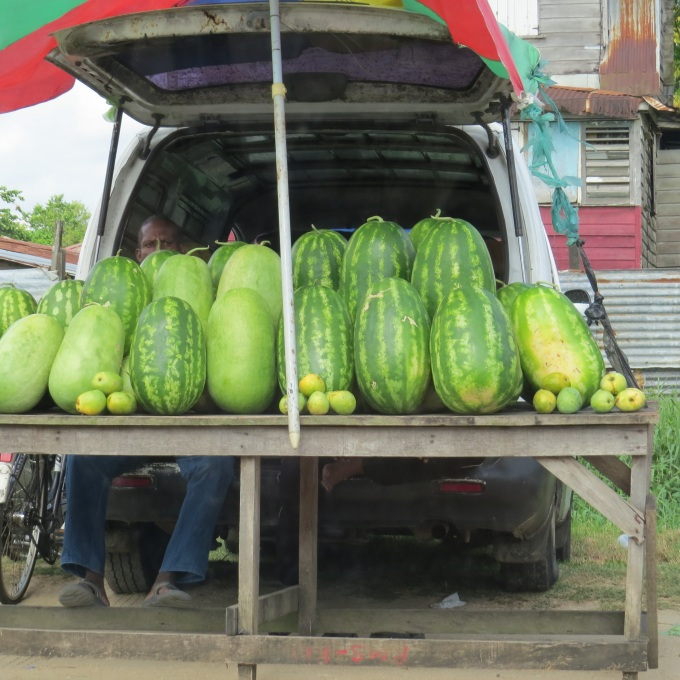 melons in suriname