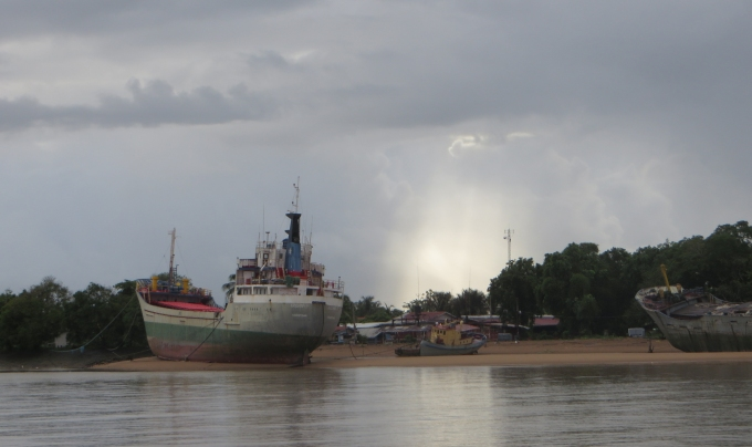 high and dry on the essequibo river