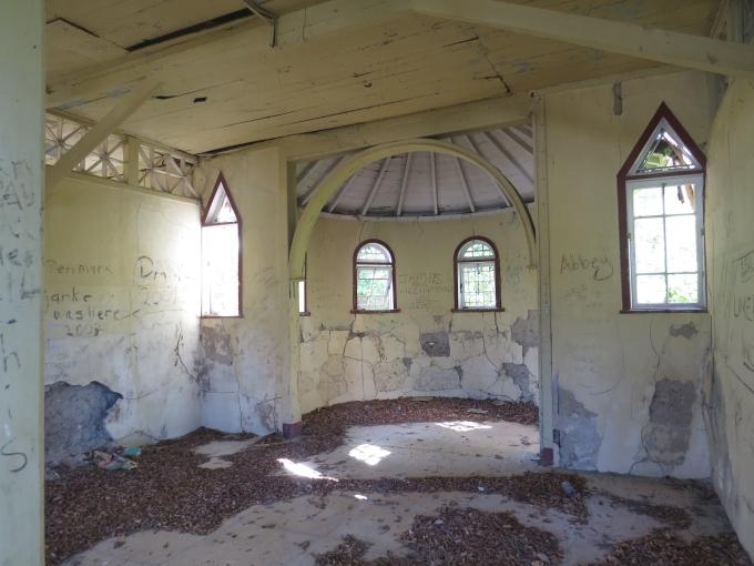 chapel apse