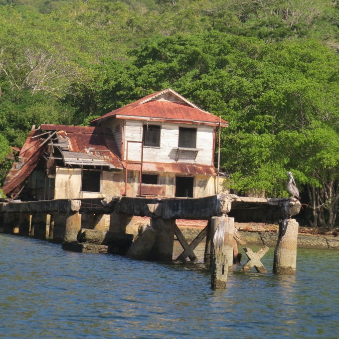 old building on chacachacare island