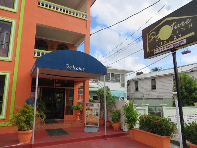 signature inn in georgetown guyana