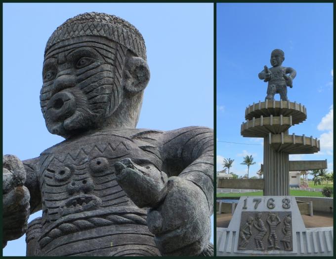cuffy monument georgetown guyana
