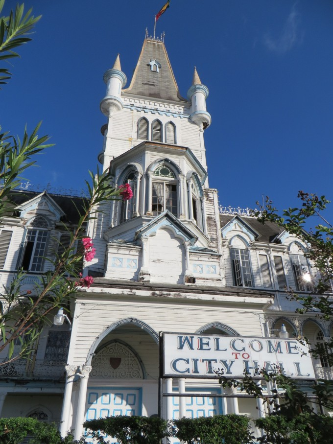 city hall georgetown guyana