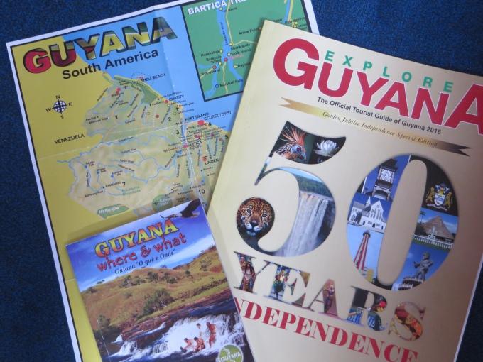 guyana brochures