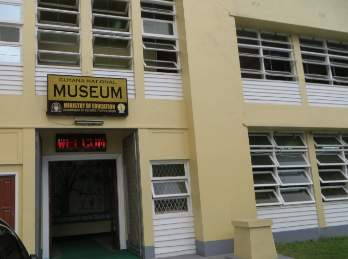 guyana national museum in georgetown