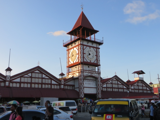 stabroek market georgetown guyana