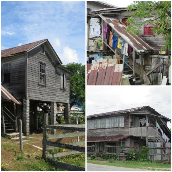 dilapidated houses in bartica guyana