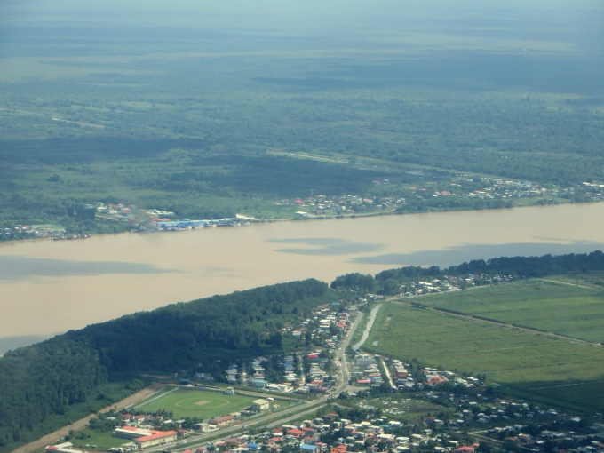 flying over demarara guyana