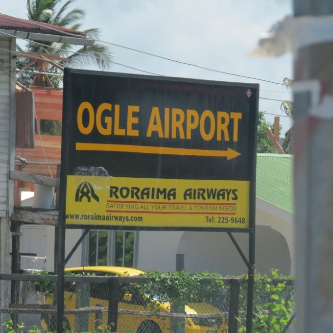 ogle airport in guyana