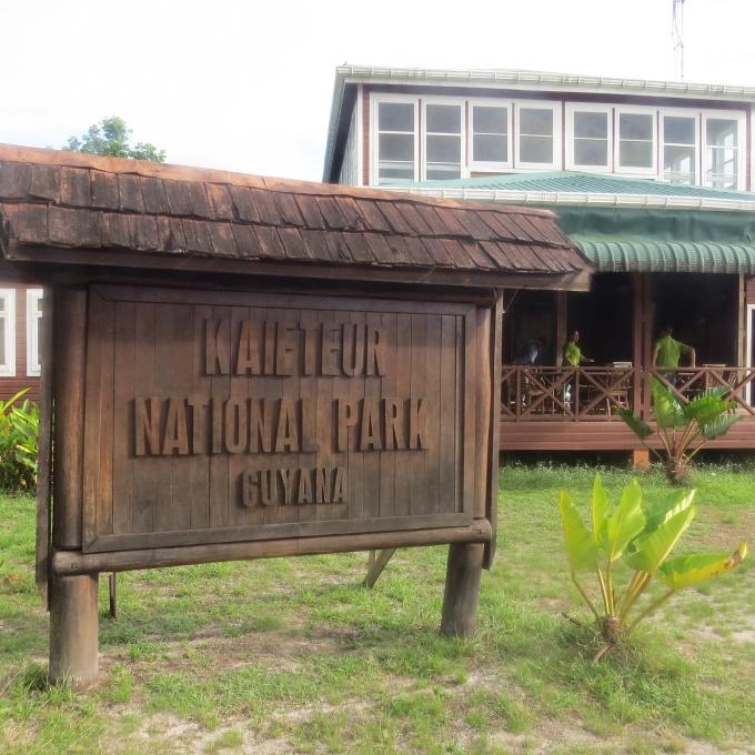 kaieteur np sign in guyana
