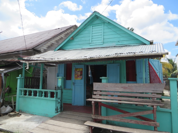 bar with no sign in bartica guyana
