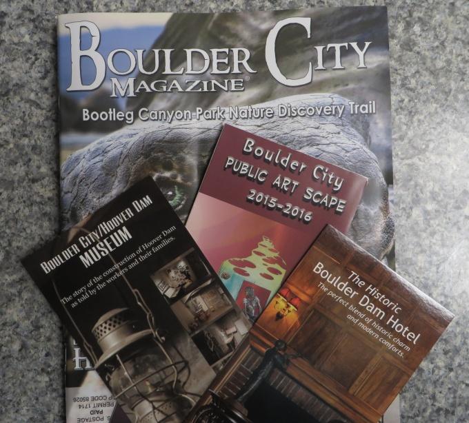 boulder city brochures