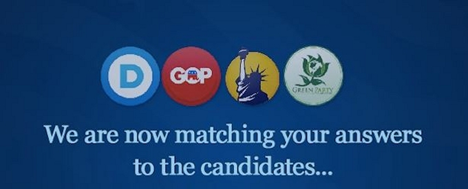 matching you up with a candidate