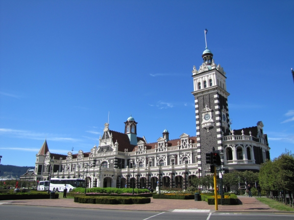 dunedin new zealand train station
