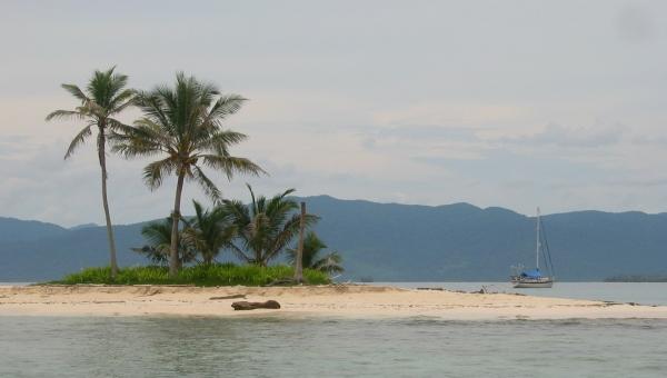 idyllic anchorage