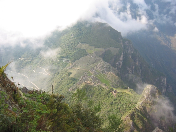 view of macchu picchu