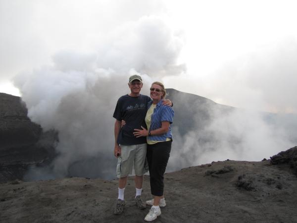 volcano at vanuatu