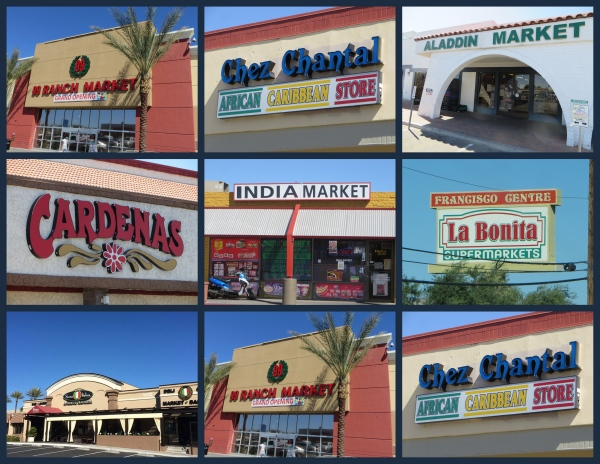 ethnic market collage las vegas nevada