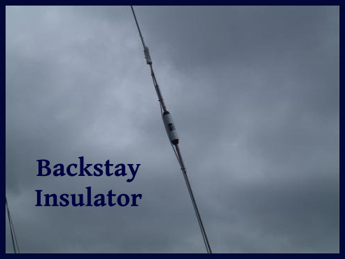 backstay insulator