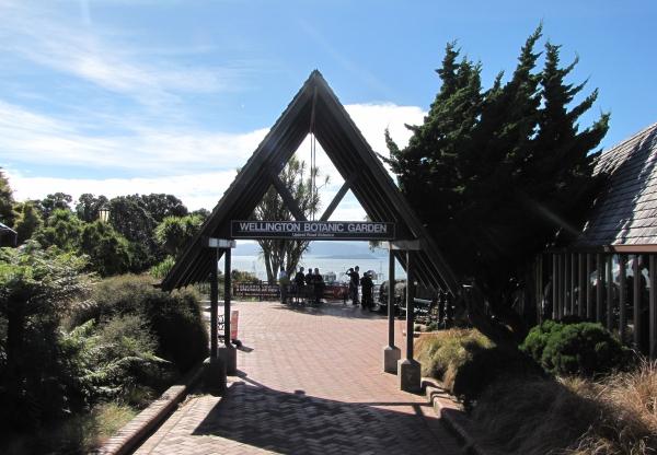 wellington new zealand botanic garden