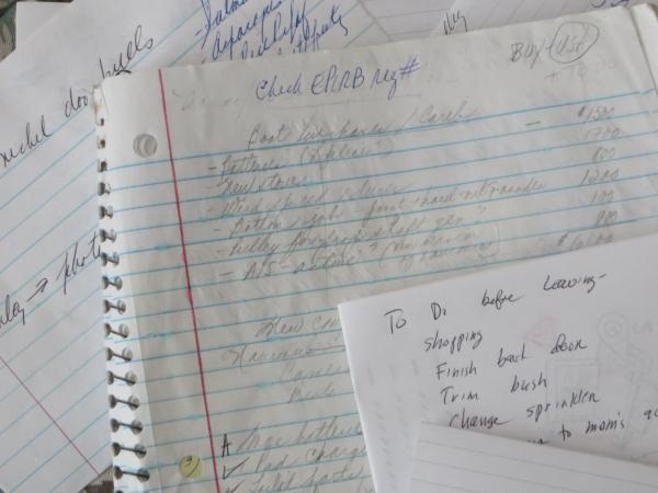 lists upon lists