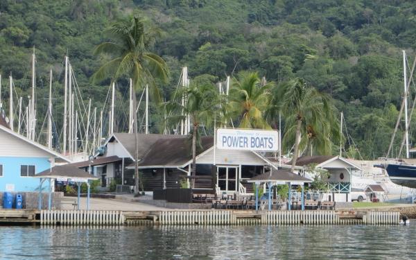 power boats wharf chaguaramas trinidad