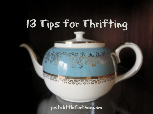13 tips for thrifting