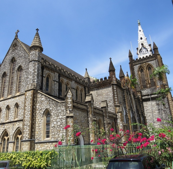 holy trinity cathedral port of spain trinidad