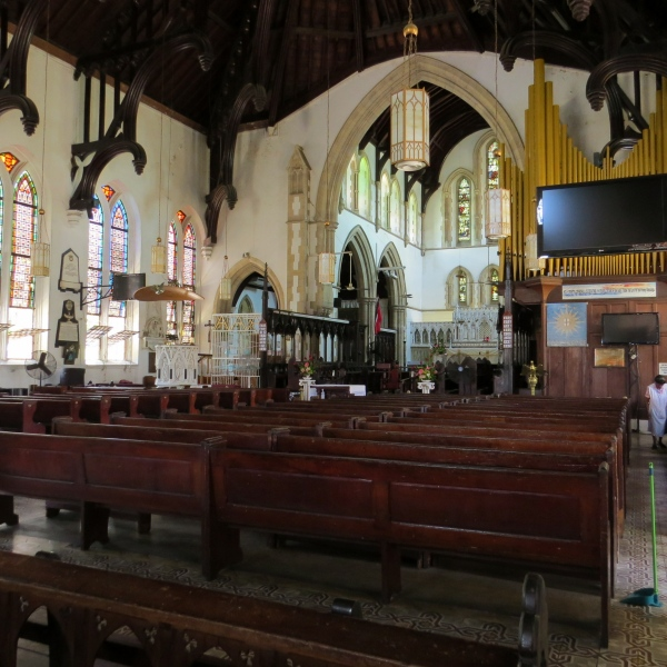 inside holy trinity port of spain trinidad