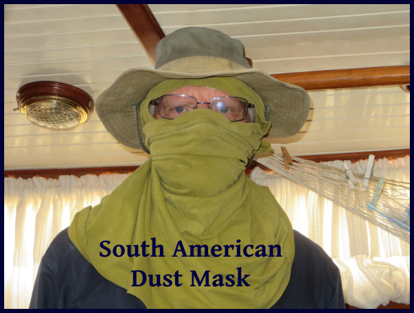 south american dust mask