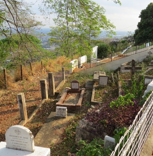 graveyard at benedictine abbey trinidad