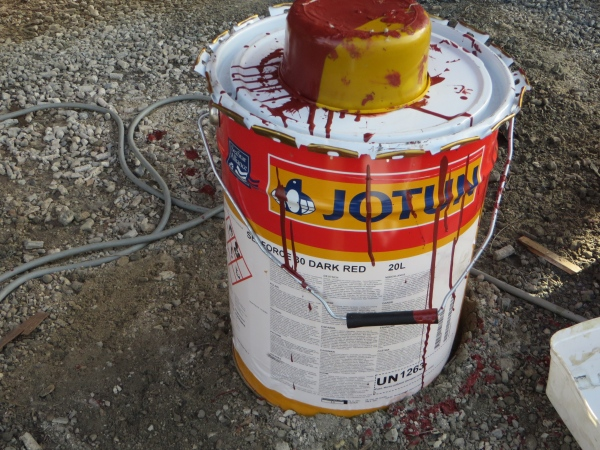 5 gallon bucket of jotun