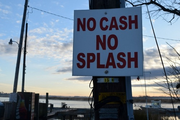no cash no splash