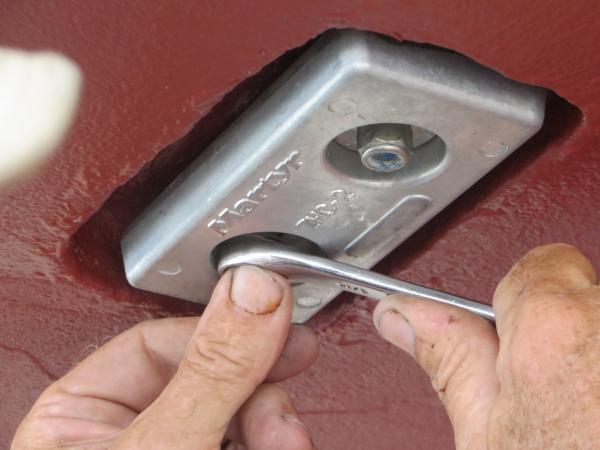 replacing hull zinc