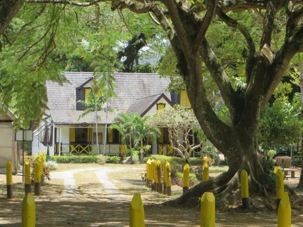 main house at lopinot in trinidad