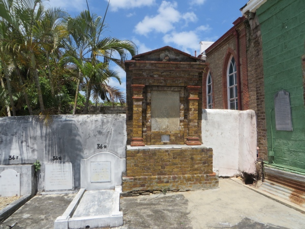 pirates tombstone in trinidad