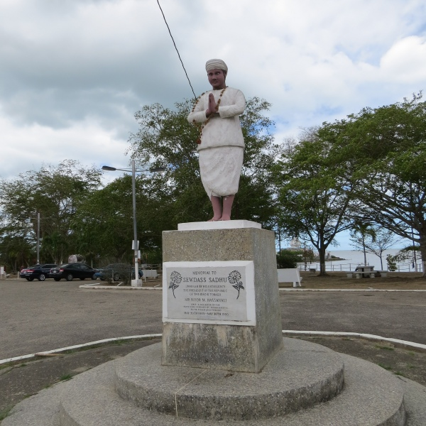 sewdass sadhu statue trinidad