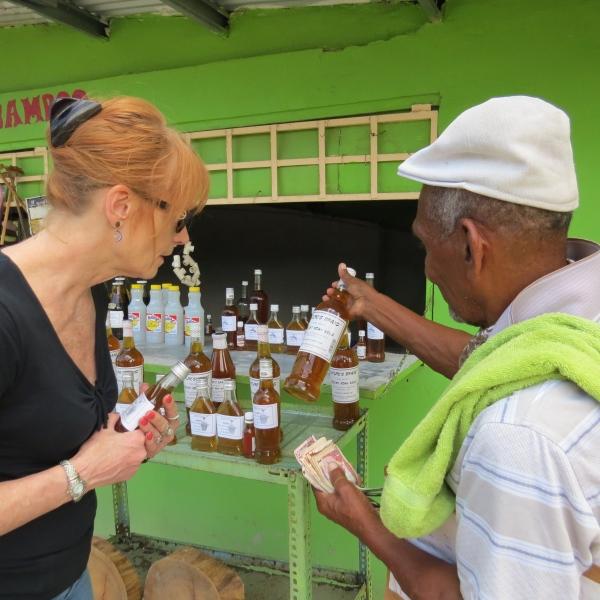 lin buys honey in trinidad