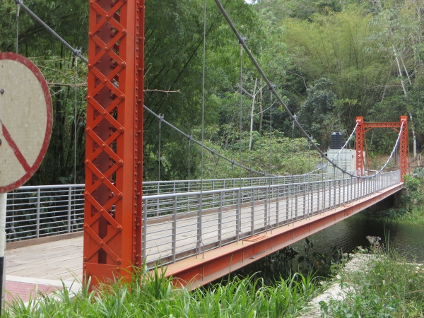 orange suspension bridge trinidad