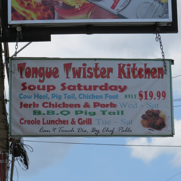 tongue twister kitchen in trinidad