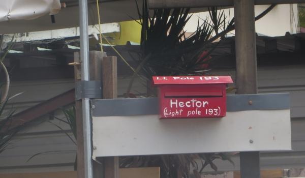 hectors mailbox in trinidad